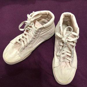 Women's vans Sk8-Hi mauve shoes